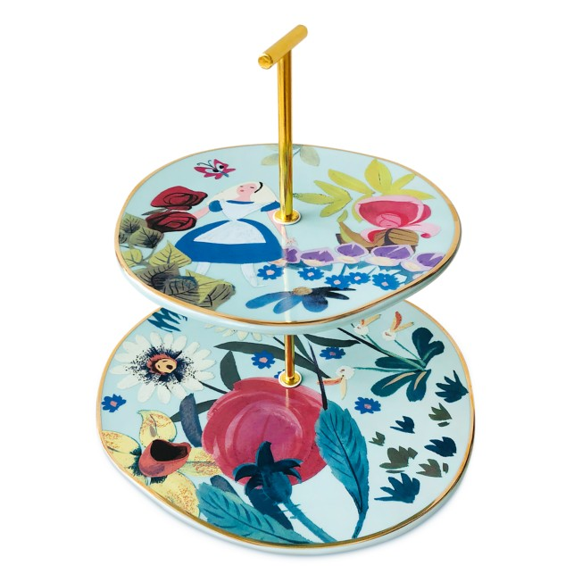 Alice in Wonderland by Mary Blair Tiered Serving Tray