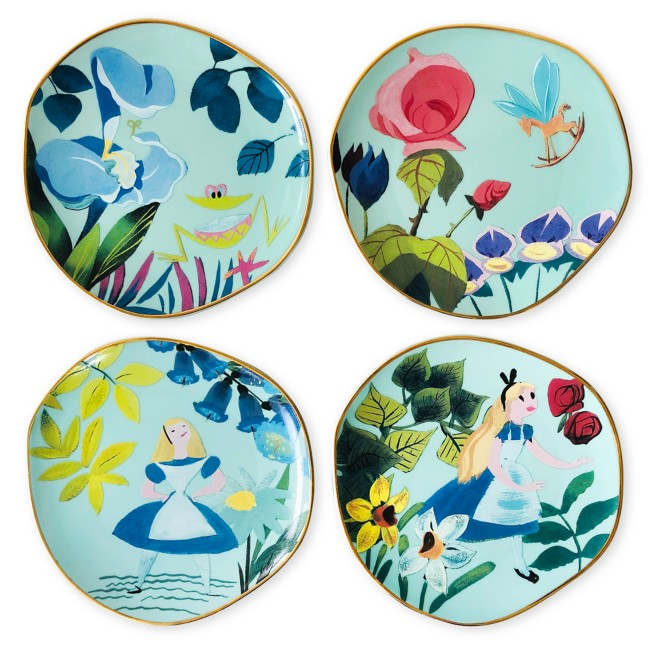 Alice in Wonderland by Mary Blair Plate Set
