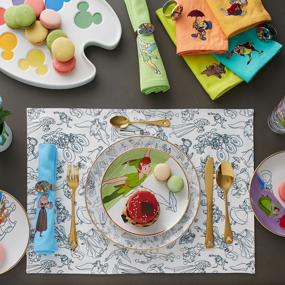 Disney Ink & Paint Dinner Napkin Set