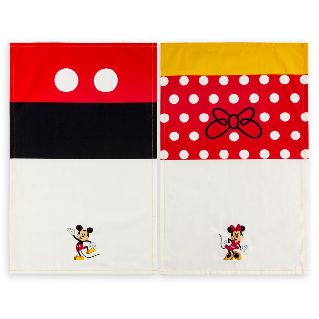 Mickey and Minnie Mouse Kitchen Towel Set