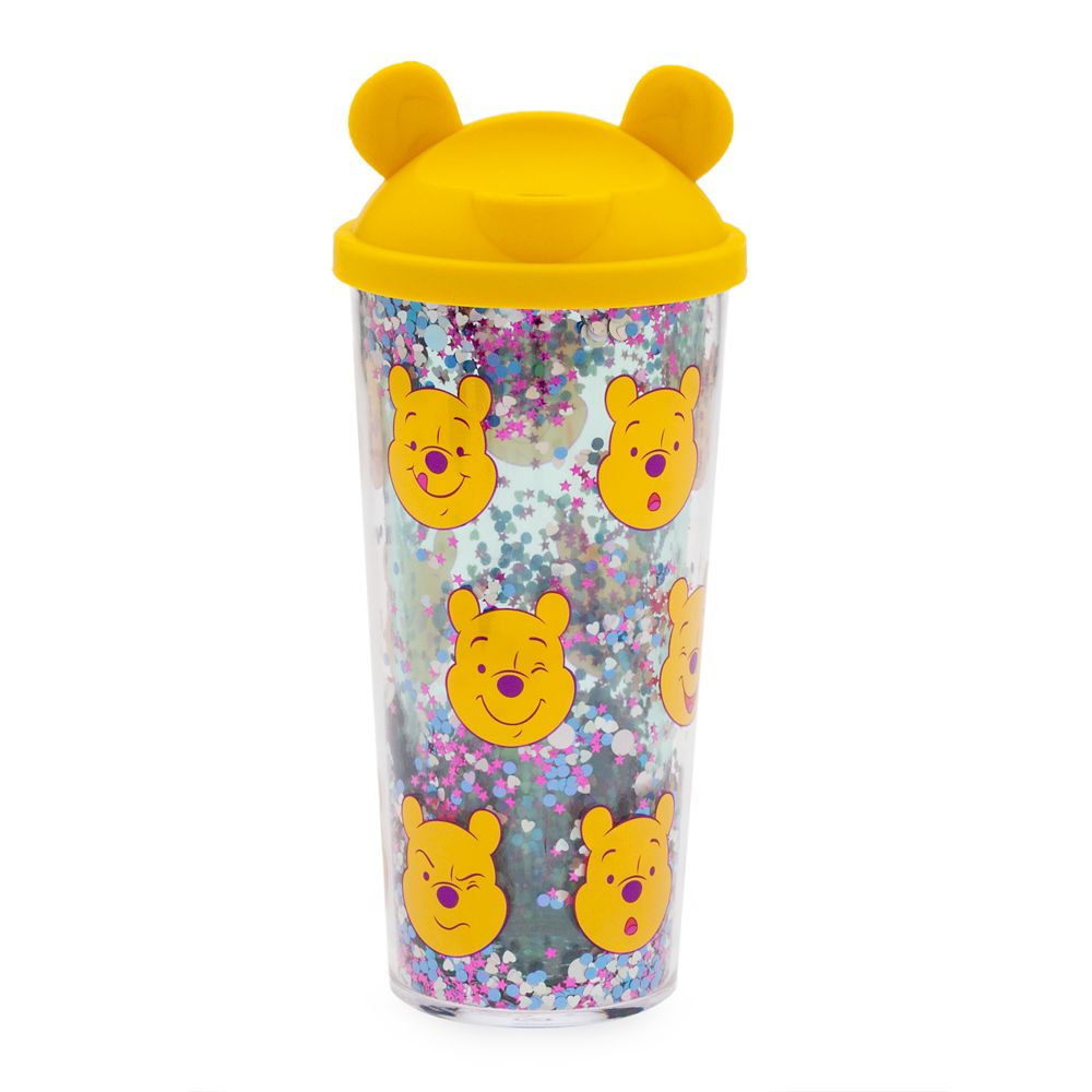 Winnie the Pooh Tumbler with Straw – Medium – Oh My Disney