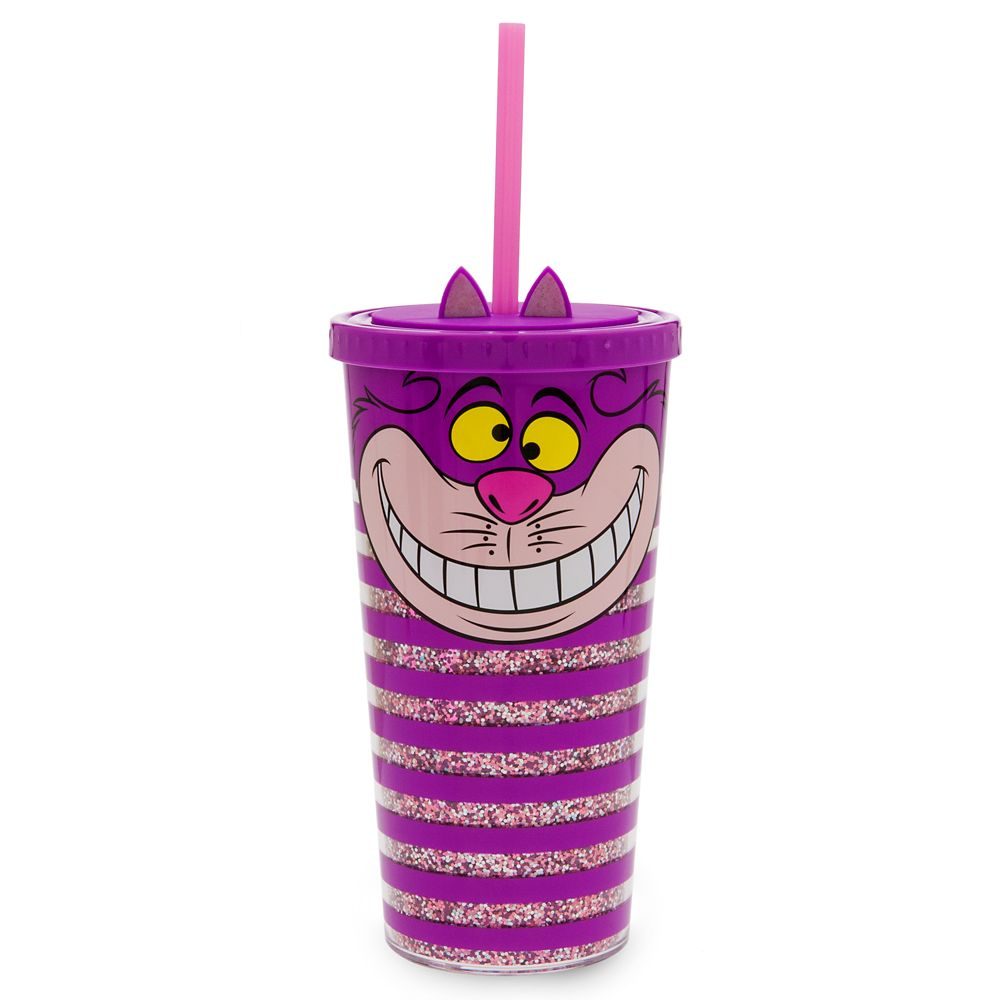 Cheshire Cat Tumbler with Straw – Large – Oh My Disney