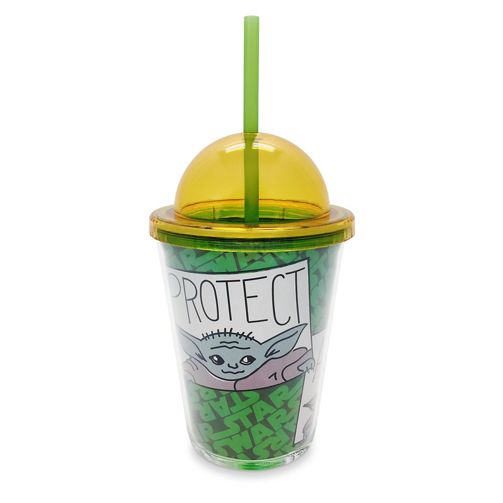 The Child Tumbler with Straw – Star Wars: The Mandalorian – Small