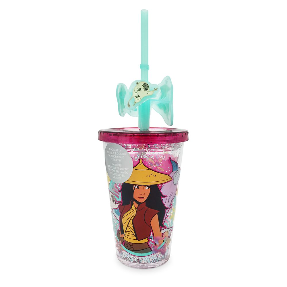 Raya and the Last Dragon Color-Changing Tumbler with Straw