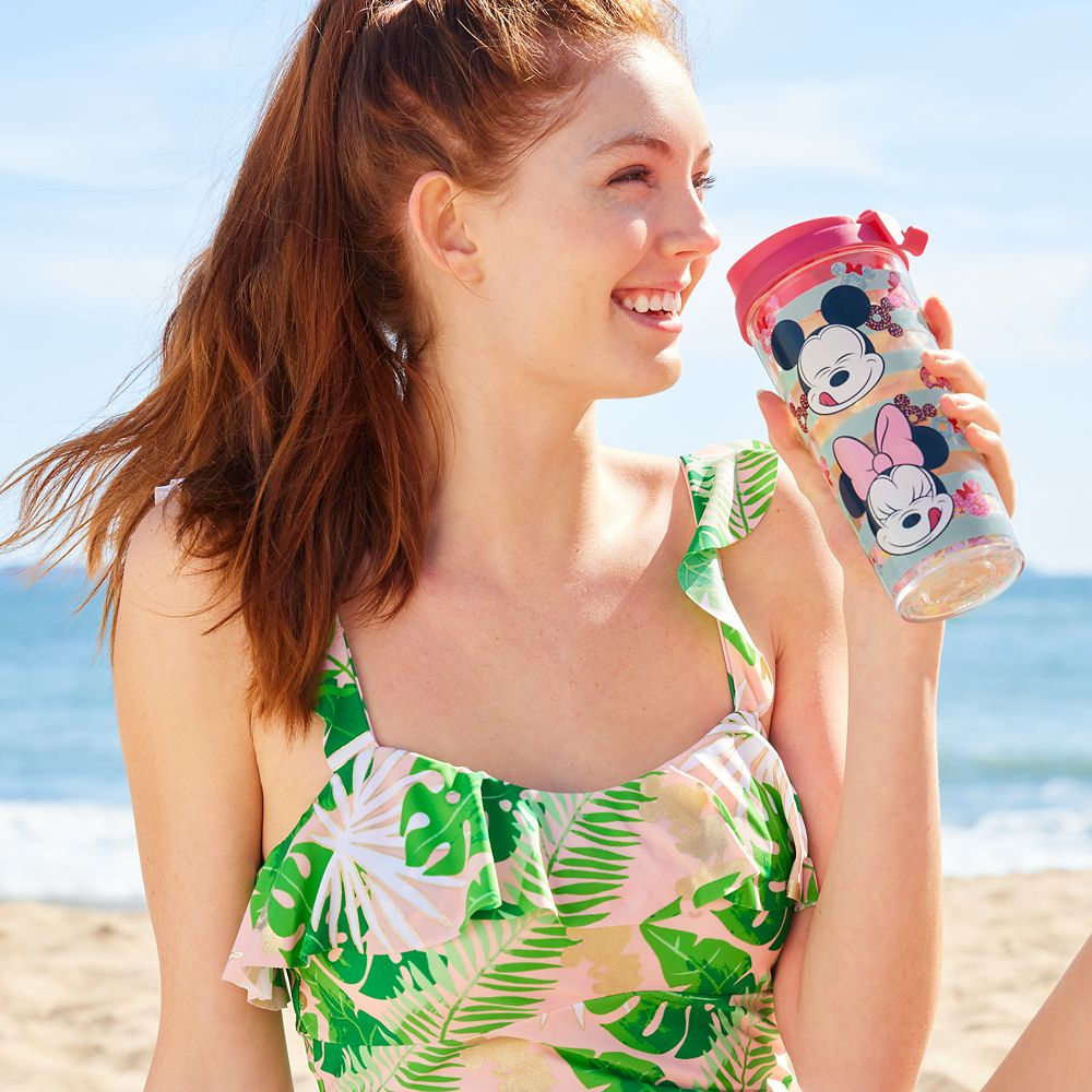 Mickey and Minnie Mouse Treats Travel Tumbler