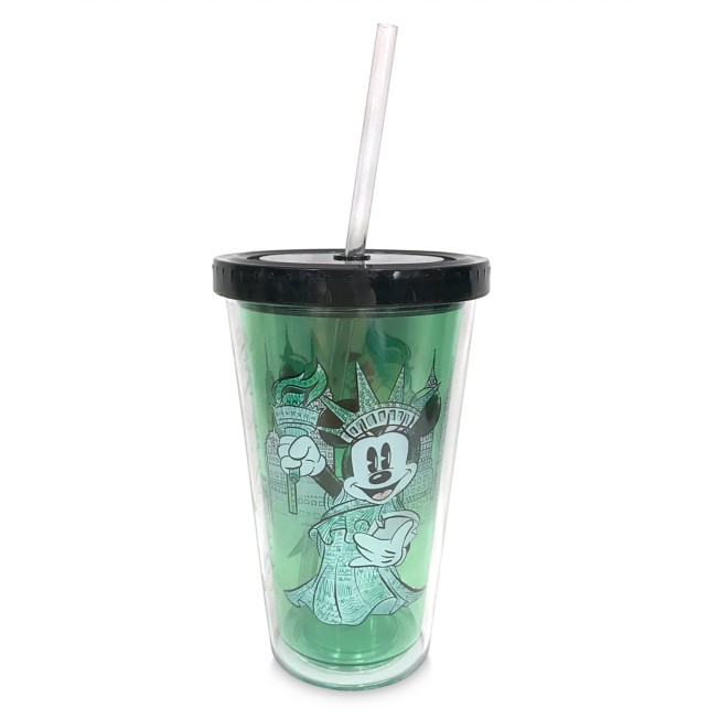 Minnie Mouse Lady Liberty Tumbler with Straw – New York City