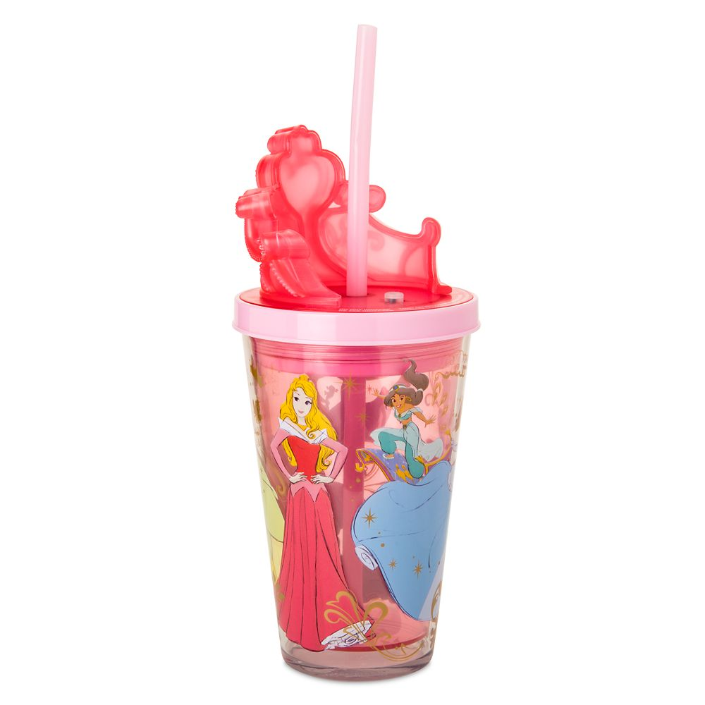 Disney Princess Light-Up Tumbler with Straw