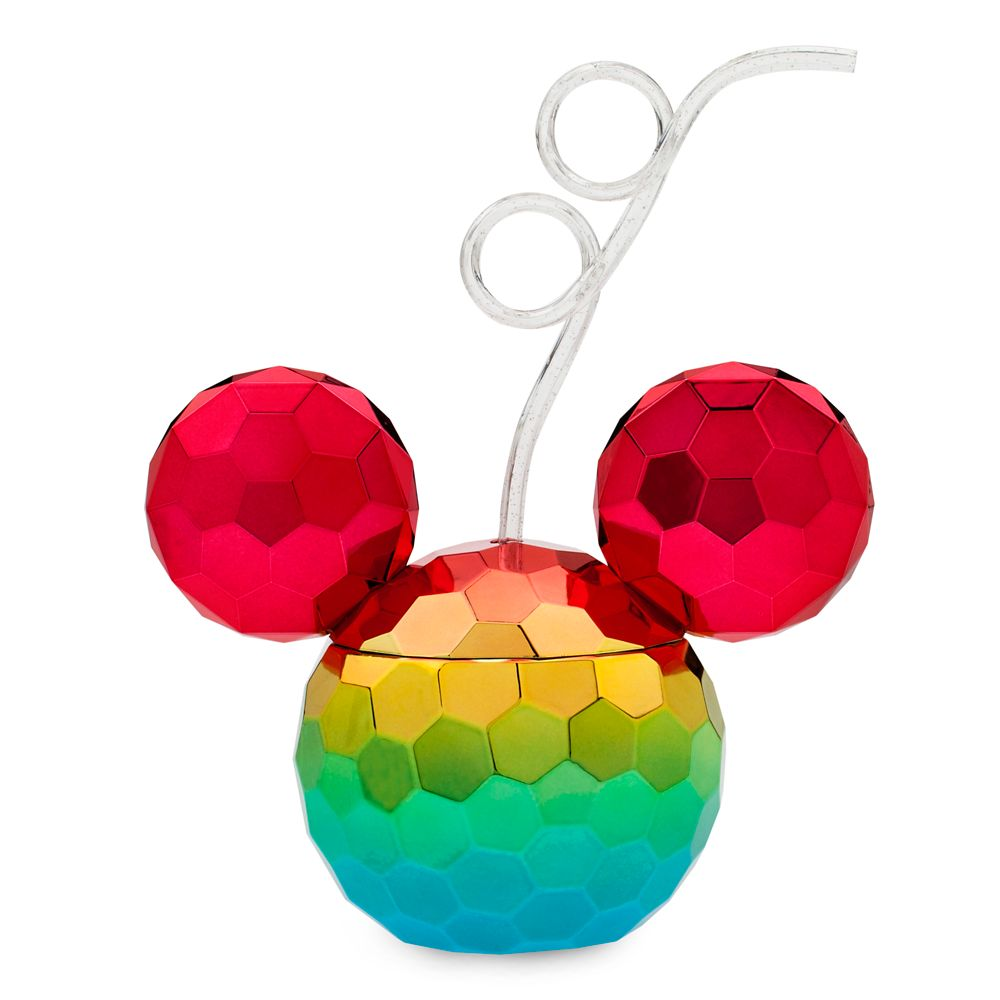 Mickey Mouse Icon Rainbow Tumbler with Straw – 2020