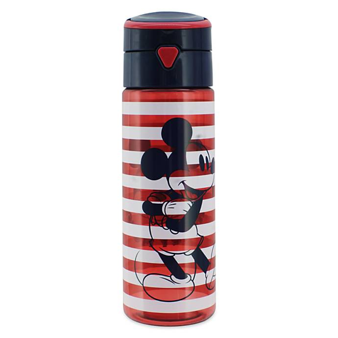 Disney Mickey Mouse Stripe Water Bottle