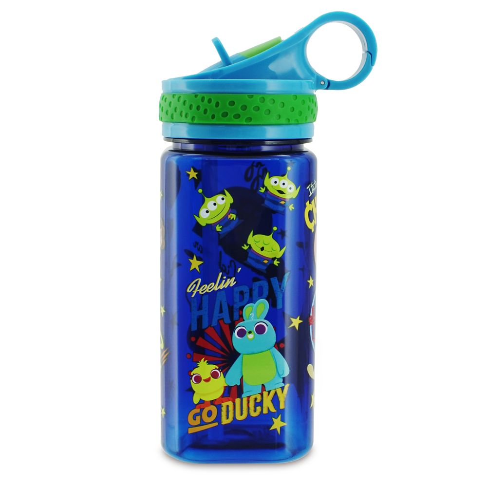 Toy Story 4 Water Bottle with Built-In Straw | shopDisney