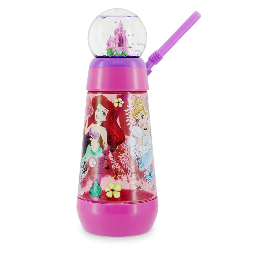 Disney Princess Snowglobe Tumbler with Straw