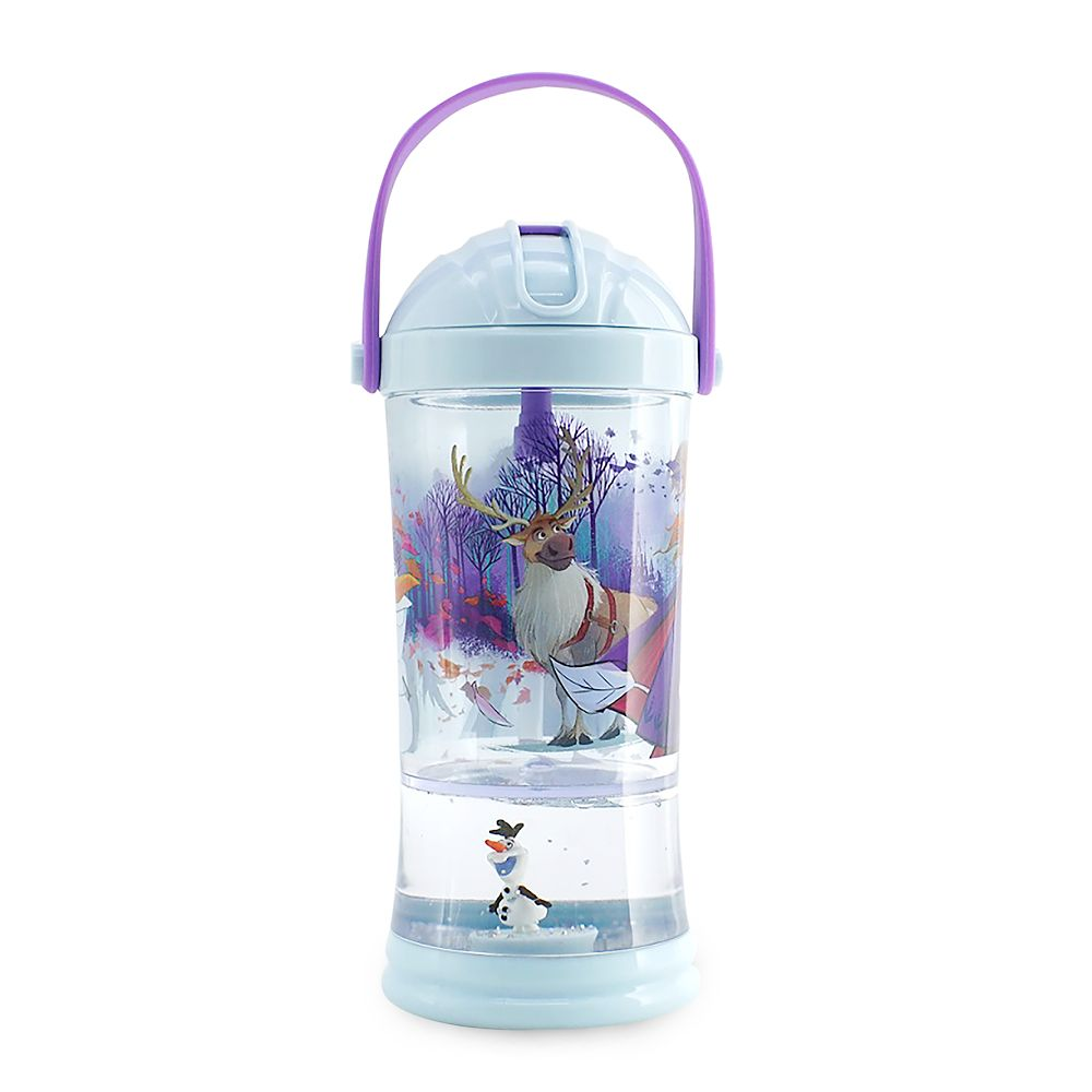 Frozen 2 Snowglobe Tumbler with Straw