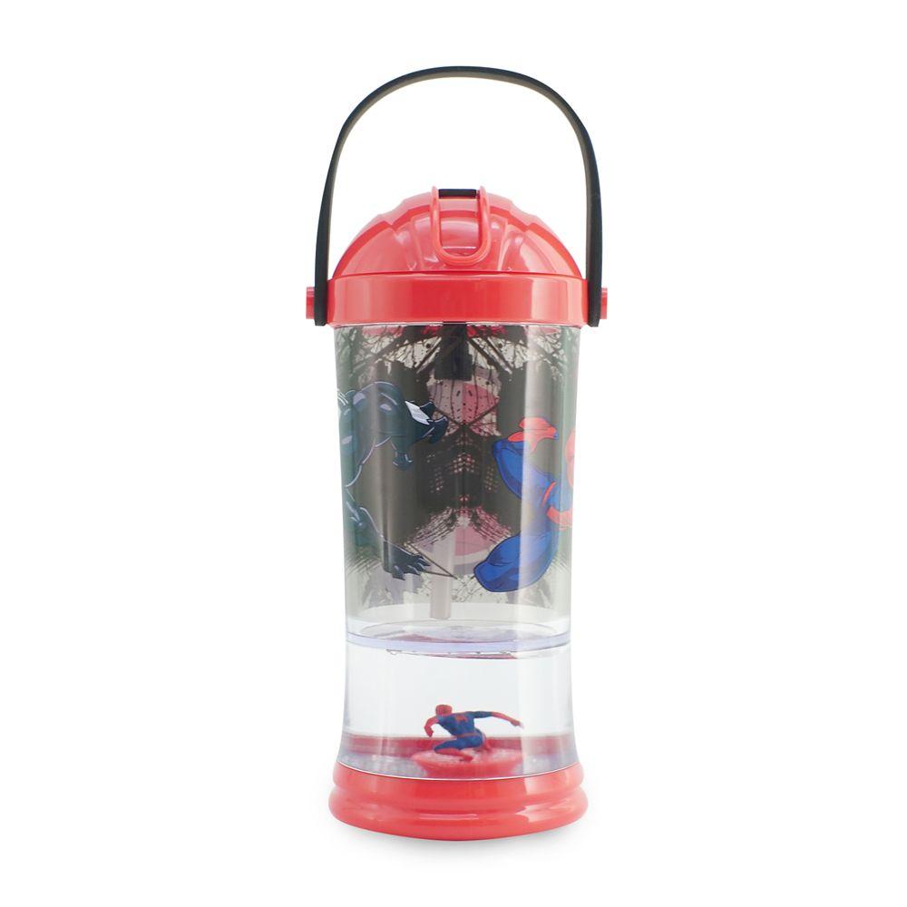 Spider-Man vs. Venom Snowglobe Tumbler with Straw