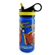 Lightning McQueen Steel Water Bottle with Built-In Straw – Cars