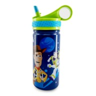 Toy Story Stainless Steel Water Bottle with Built-In Straw