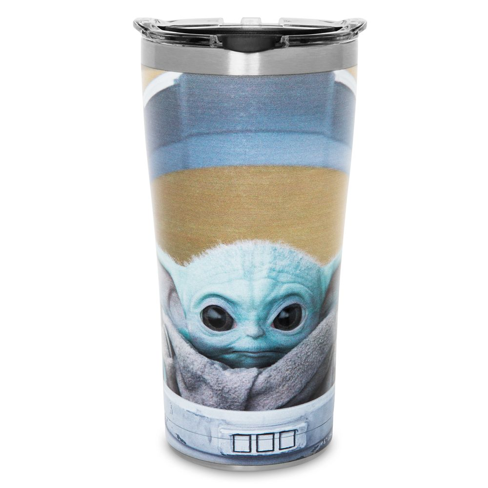The Child Stainless Steel Travel Tumbler by Tervis – Star Wars: The Mandalorian – Stare