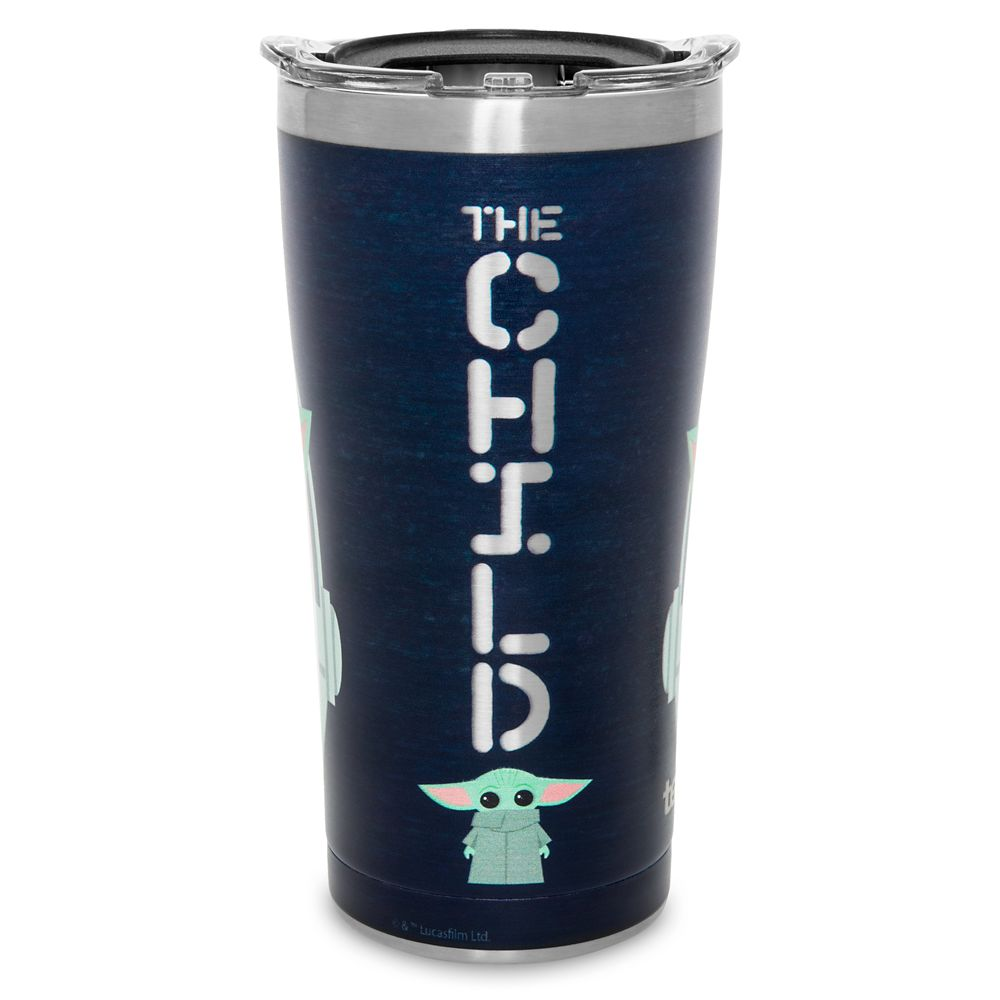 The Child Stainless Steel Travel Tumbler by Tervis – Star Wars: The Mandalorian – In Carrier