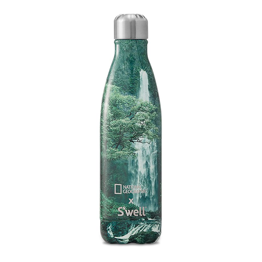 National Geographic Waterfall S'well Water Bottle