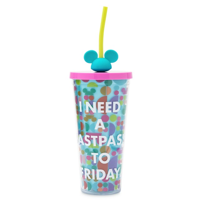 FastPass Tumbler with Straw