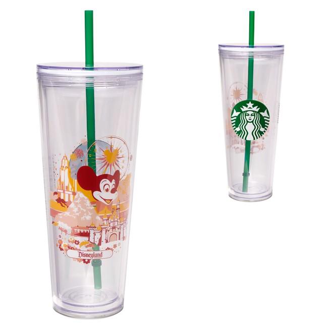 Disneyland Starbucks Tumbler with Straw
