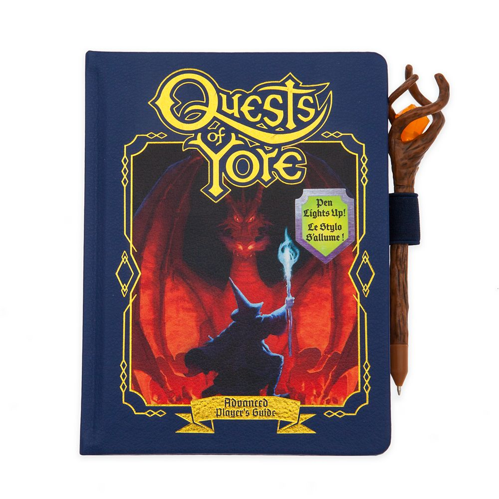 Onward ''Quests of Yore'' Replica Journal and Pen Set