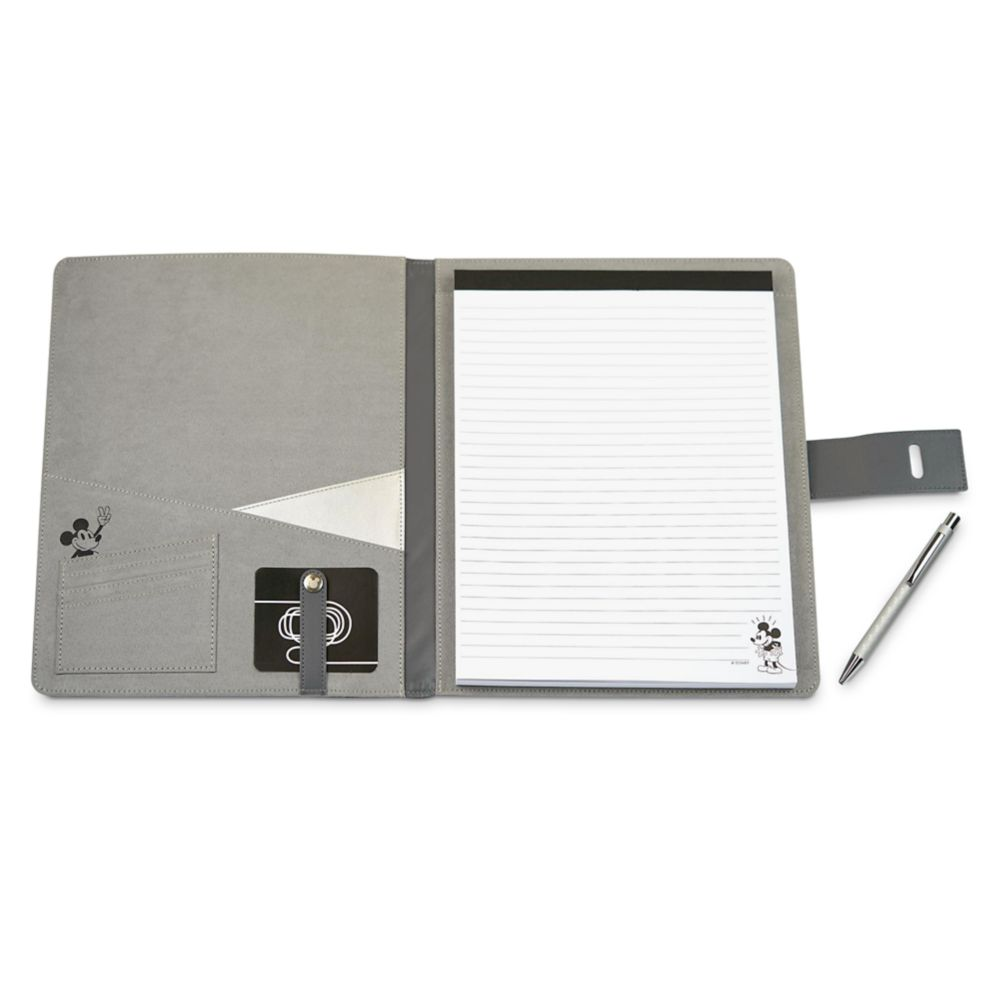 Mickey Mouse Grayscale Padfolio