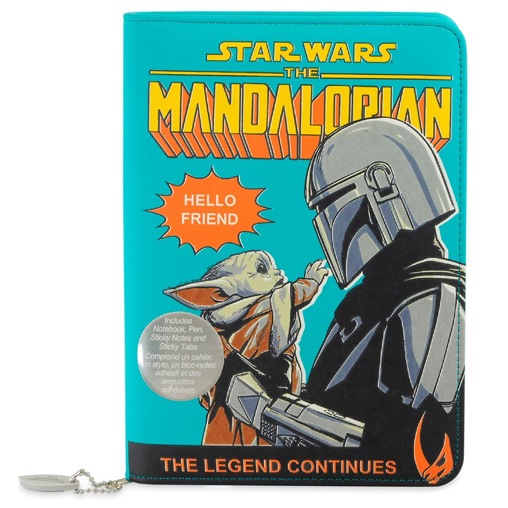 Disney Star Wars: The Mandalorian Padfolio Stationery Set