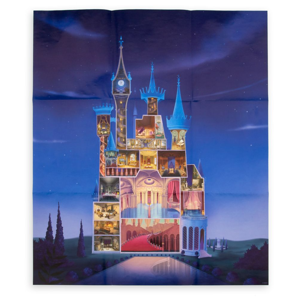 Cinderella Castle Journal – Disney Castle Collection – Limited Release