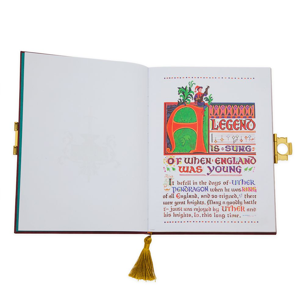 The Sword in the Stone Storybook Replica Journal