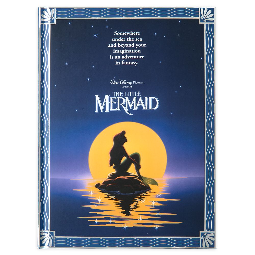 The Little Mermaid Movie Poster Journal