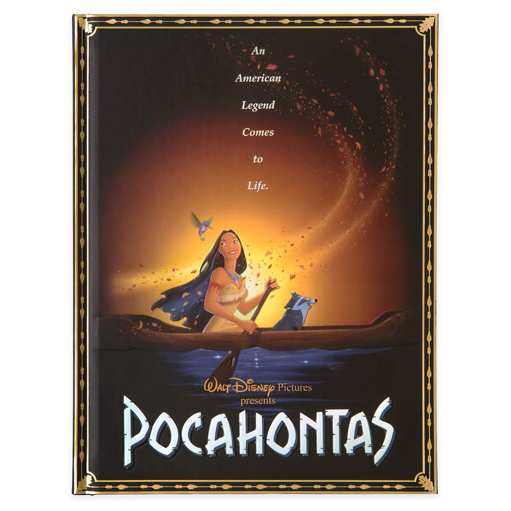 Pocahontas Movie Poster Journal