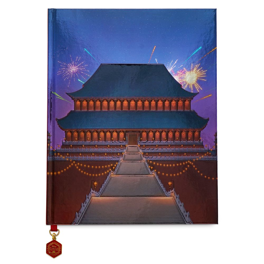 Mulan Imperial Palace Journal Disney Castle Collection Limited Release Shopdisney