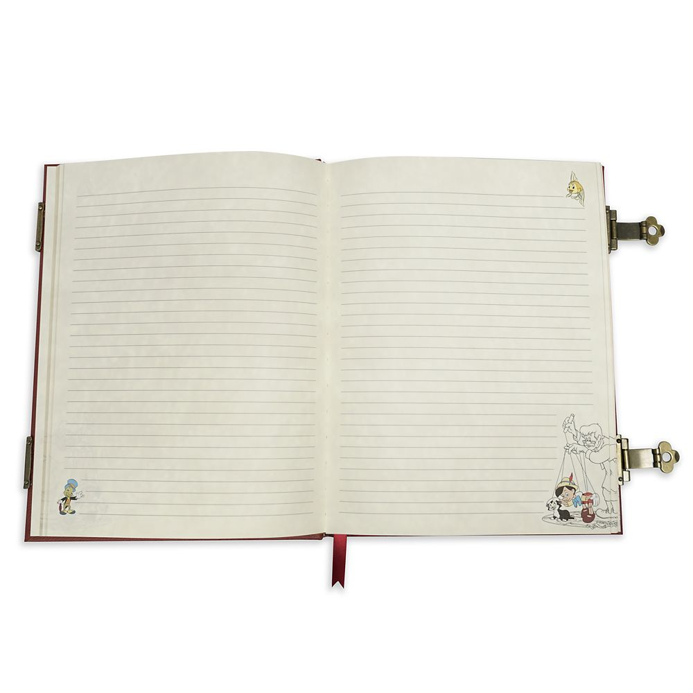 Pinocchio Storybook Replica Journal