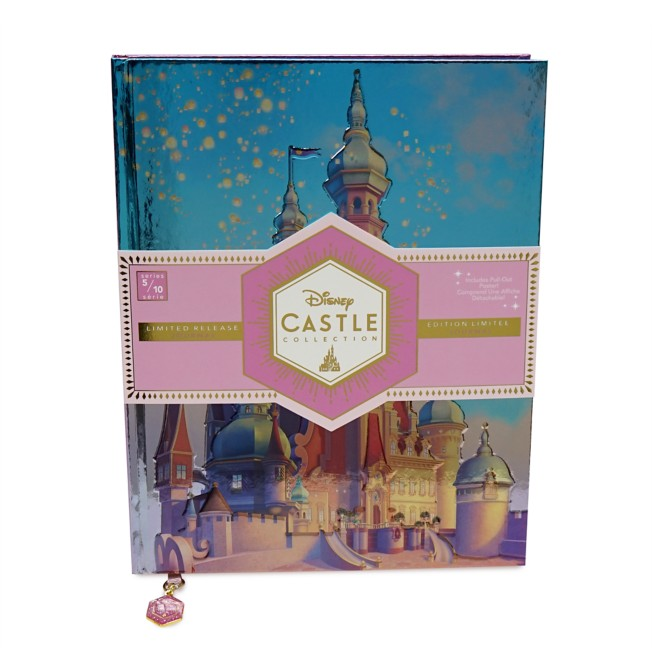 Rapunzel Castle Journal – Tangled – Disney Castle Collection – Limited Release
