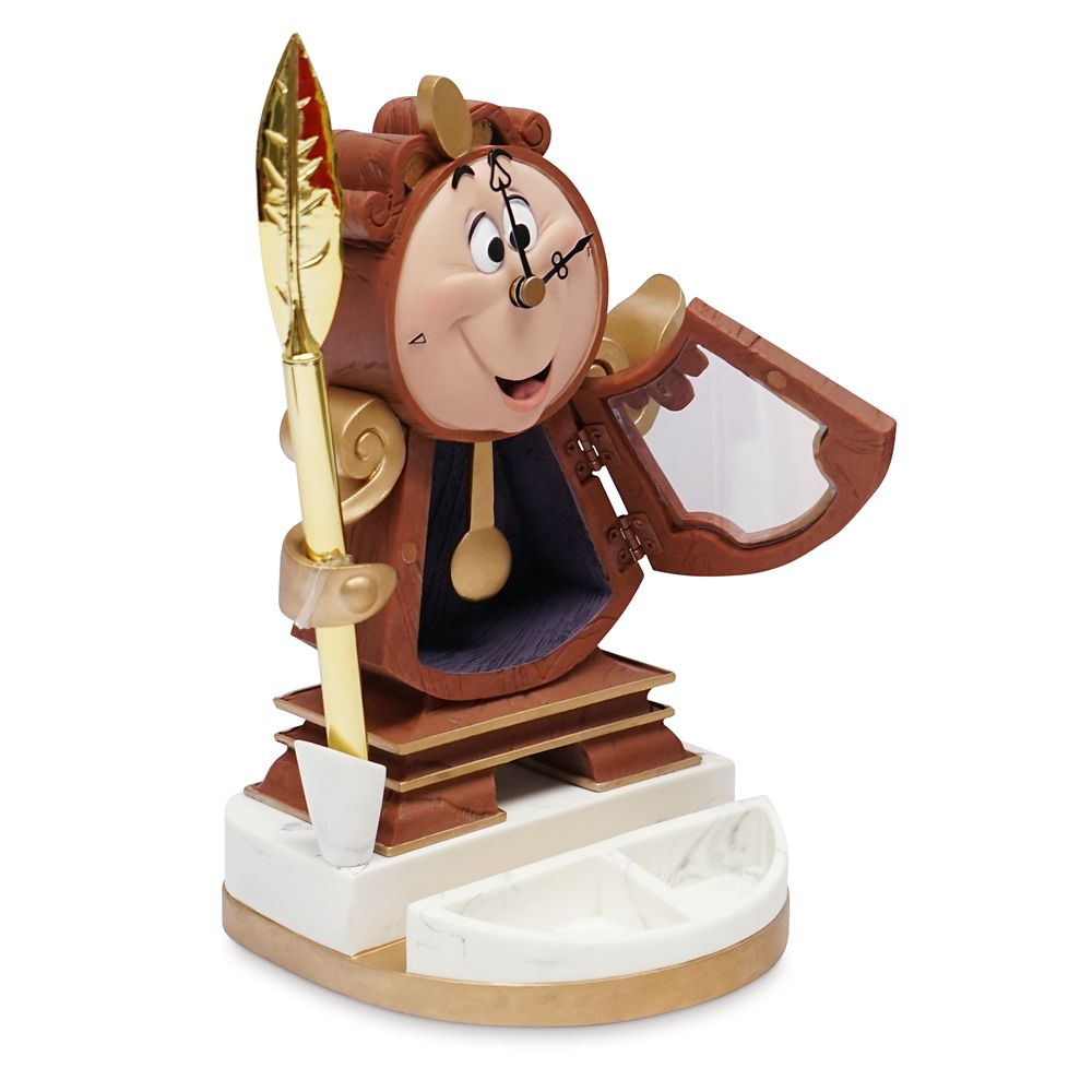 Cogsworth Desk Clock with Pen – Beauty and the Beast