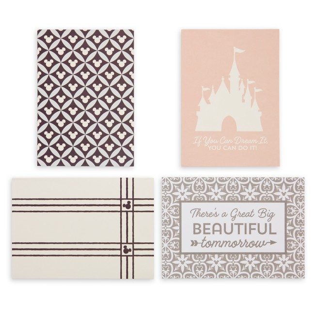 Mickey Mouse Icon Notecard Set – Disney Homestead Collection