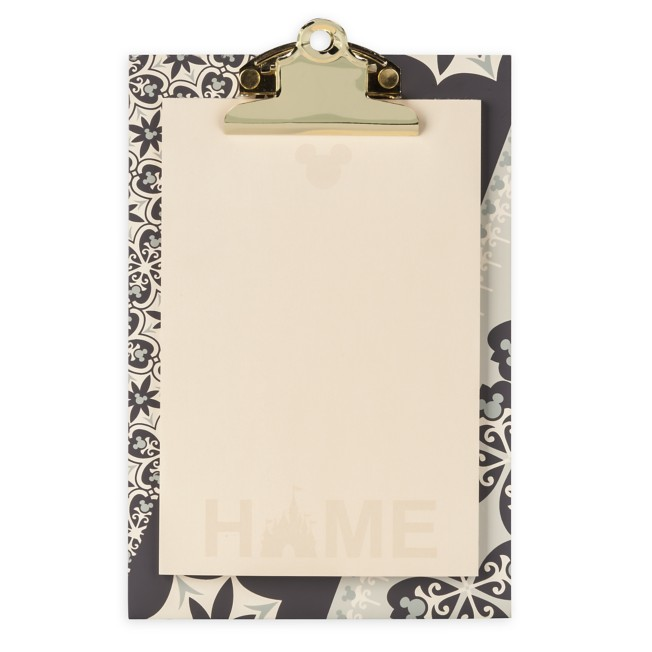 Mickey Mouse Icon Clipboard and Notepad Set – Disney Homestead Collection