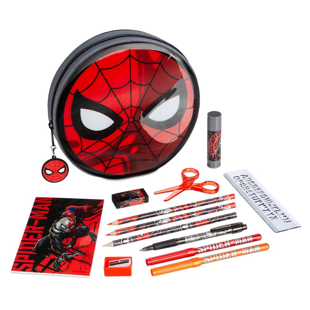 Disney Spider-Man Zip-Up Stationery Kit