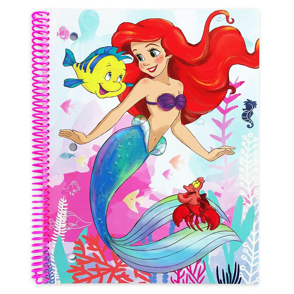 Ariel Stationery Supply Kit – The Little Mermaid