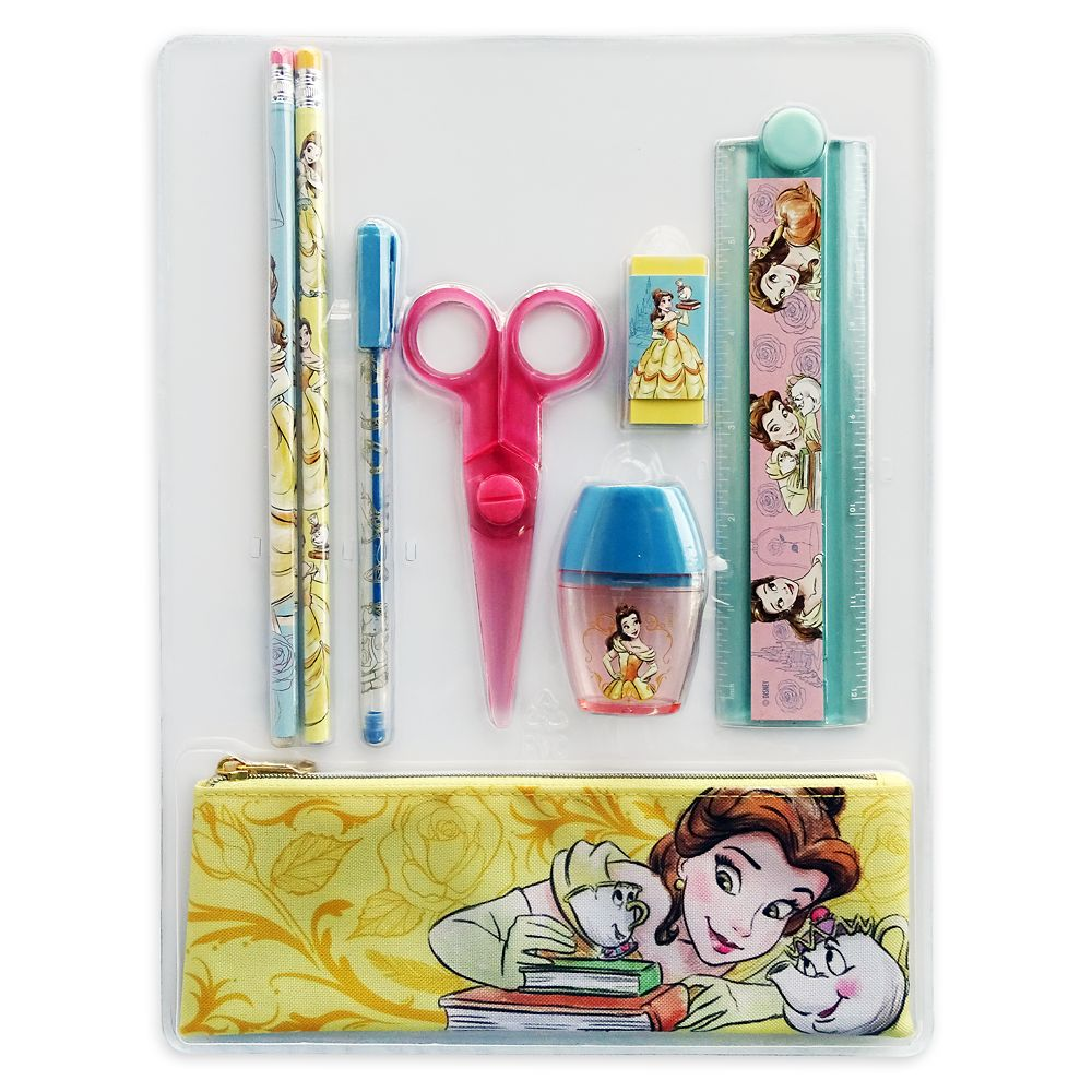 Belle Stationery Supply Kit – Beauty and the Beast