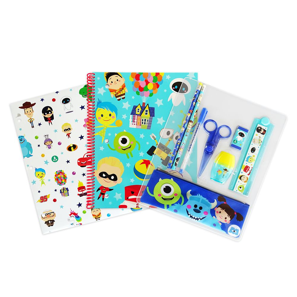 Pixar Pals Stationery Supply Kit