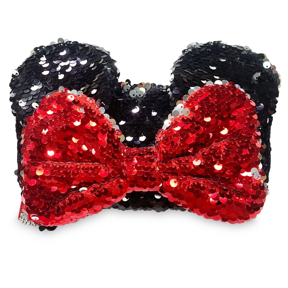 Minnie Mouse Reversible Sequin Pencil Case
