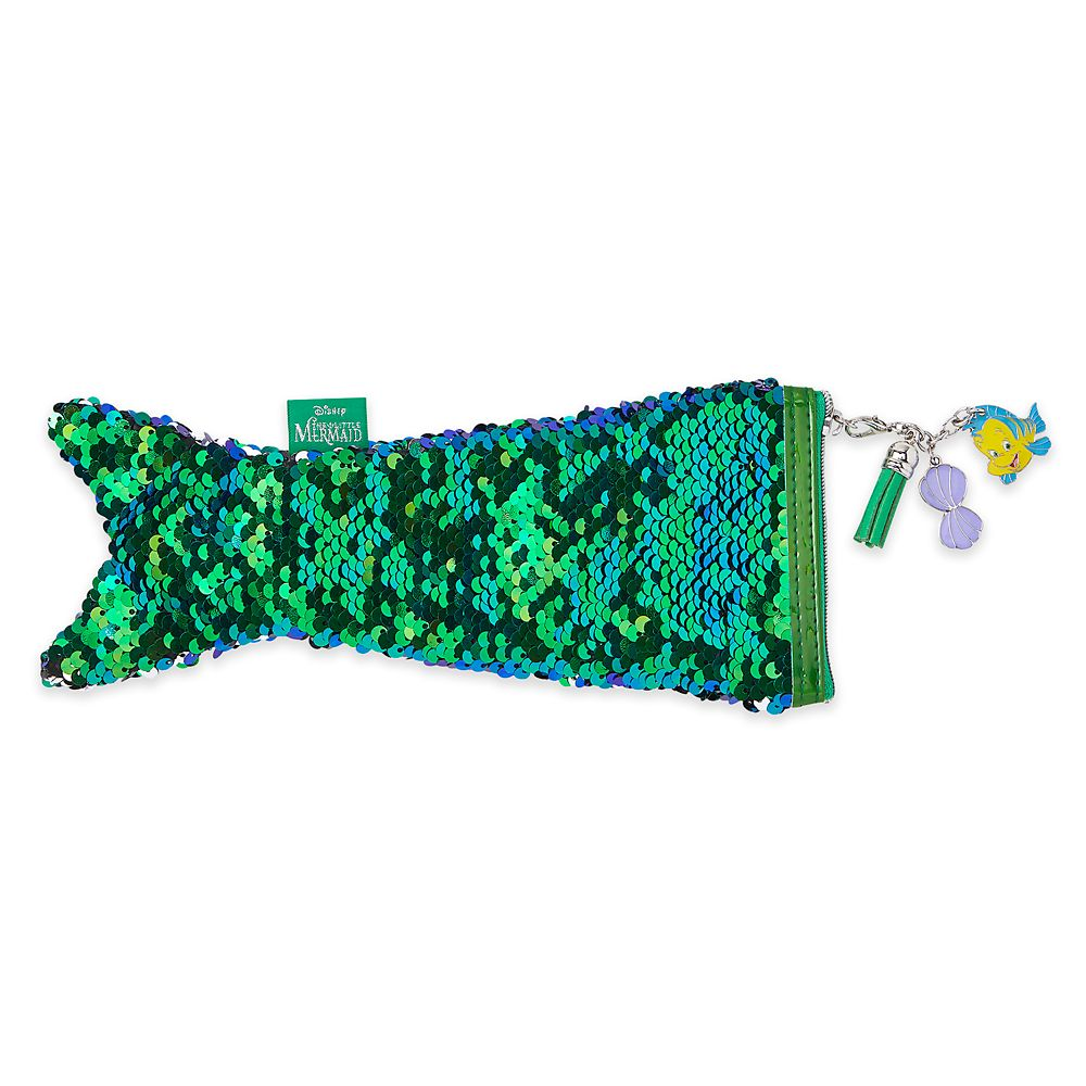Ariel Reversible Sequin Pencil Case – The Little Mermaid