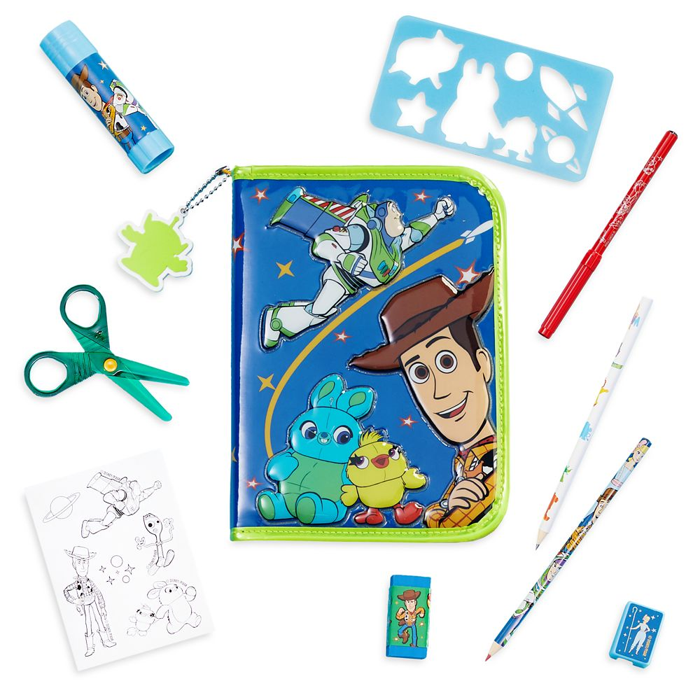 Toy Story 4 Zip-Up Stationery Kit