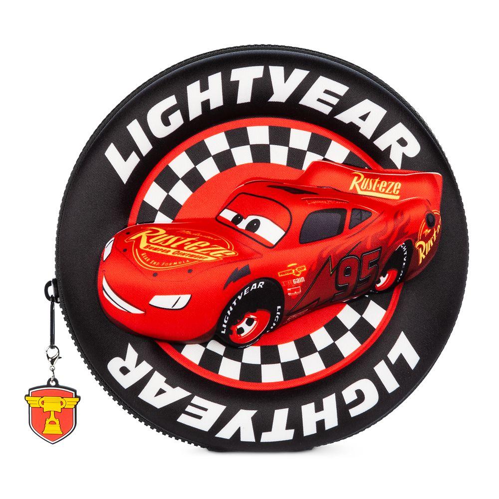 NWT Disney store Cars Lightening McQueen Zip up stationary Kit School Supplies