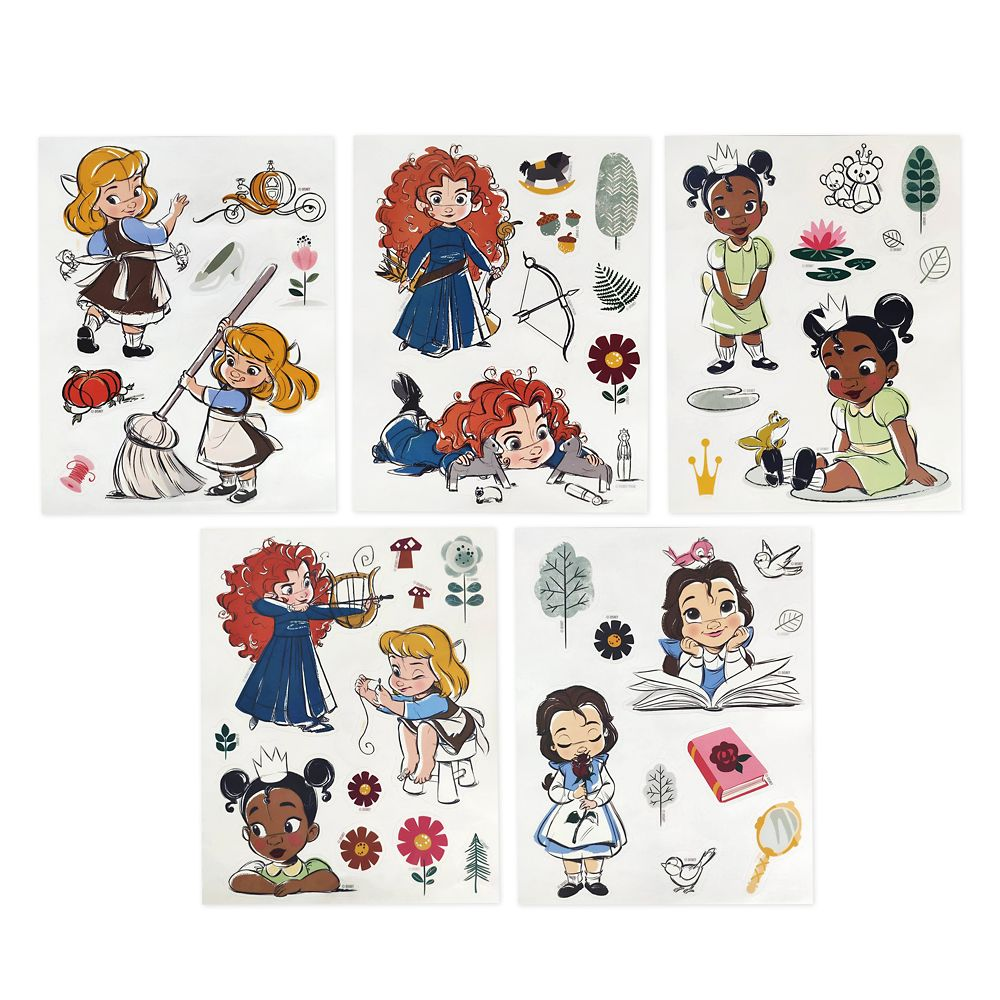Disney Animators' Collection Storybook Coloring and Activity Set