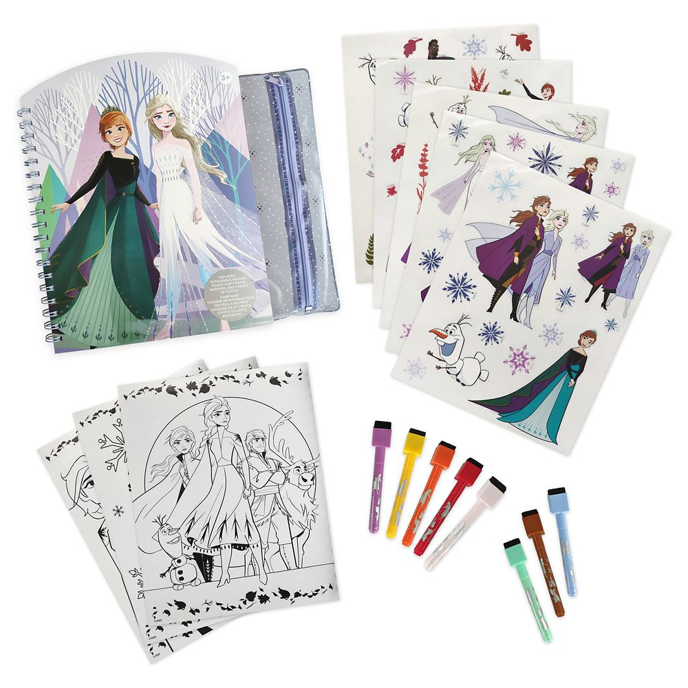 Frozen 2 Storybook Coloring and Activity Set