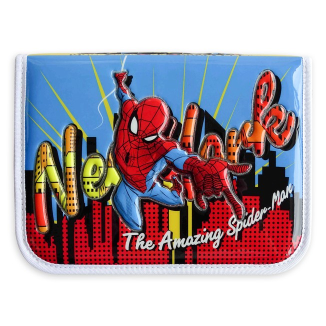 Spider-Man Zip-Up Stationery Kit