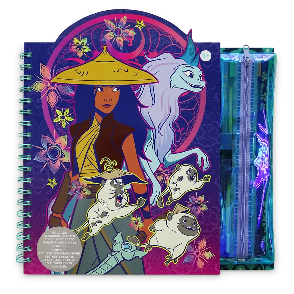 Raya and the Last Dragon Storybook Coloring and Activity Set