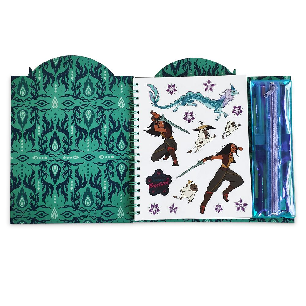 Raya and the Last Dragon Storybook Coloring and Activity Set